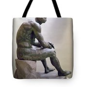 Rome Boxer Sculpture Tote Bag by Granger