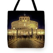 Rome Castel Sant Angelo Tote Bag