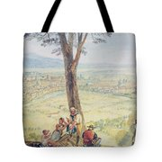 Rome From Monte Mario Tote Bag