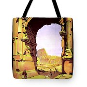 Rome, Italy, Rome Express Railway Tote Bag