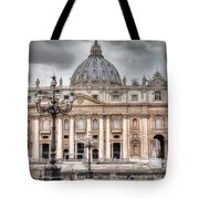 Rome Italy St. Peter's Basilica Tote Bag