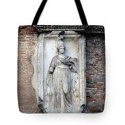 Rome Italy Statue Tote Bag