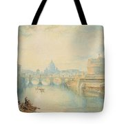 Rome Tote Bag by Joseph Mallord William Turner