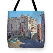 Rome Piazza Republica Tote Bag