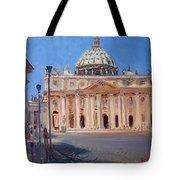 Rome Piazza San Pietro Tote Bag