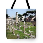 Rome Ruins Tote Bag