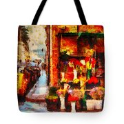 Rome Street Colors Tote Bag by Stefano Senise