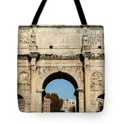 Rome - The Arch Of Constantine 3 Tote Bag