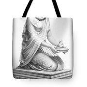 Rome: Vestal Virgin Tote Bag