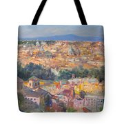 Rome View From Gianicolo Tote Bag