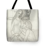 Romeo And Juliet, With Friar Lawrence Tote Bag