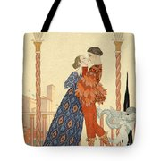 Romeo And Juliette Tote Bag