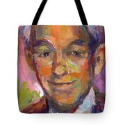 Ron Paul Art Impressionistic Painting  Tote Bag