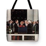 Ronald Reagan Inauguration - 1981 Tote Bag