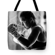 Ronda Rousey Fighter Tote Bag
