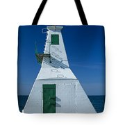 Rondeau Lighthouse Tote Bag