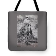 Ronnie And Red Man Tote Bag