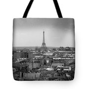 Roof Of Paris. France Tote Bag