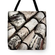 Roof Tile Abstract Tote Bag