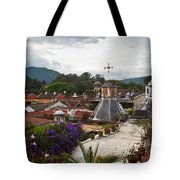 Roof Top View 2 Tote Bag