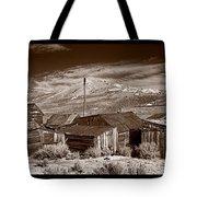 Rooflines Bodie Ghost Town Tote Bag