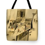 Roofs And Steeple Tote Bag