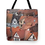 Roofs Of Bad Sooden-allendorf Tote Bag by Heiko Koehrer-Wagner