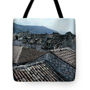 Roofs Of Dubrovnik Tote Bag