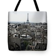 Roofs Of Paris. France Tote Bag