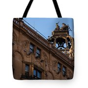 Rooftop Chariots And Horses - The Hippodrome Casino Leicester Square London U K Tote Bag