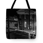 Rooftop Court Tote Bag