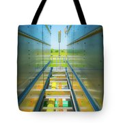 Rooftop Piping Tote Bag