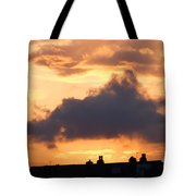 Rooftop Sunset 2 Tote Bag