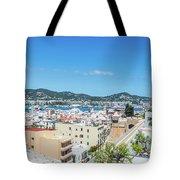 Rooftops Of Ibiza 4 Tote Bag