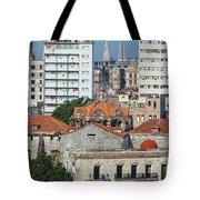 Rooftops Of Old Town Havana Tote Bag