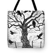 Rook Tree Tote Bag