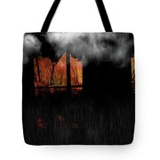 Room With Clouds Tote Bag