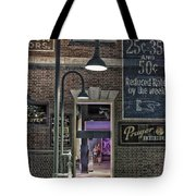 Rooms For Rent 25 Cents Signage Tote Bag