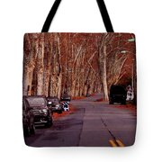 Roosevelt Avenue Red Tote Bag