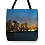 Roosevelt Island 1 New York Tote Bag