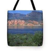 Roosevelt Lake - Panoramic Tote Bag