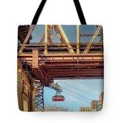 Roosevelt Tram Underneath The 59 St Bridge Tote Bag