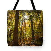 Rooster Comb Trail Tote Bag
