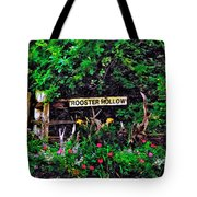 Rooster Hollow Tote Bag