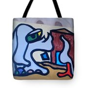 Rooster House Amazement No Head Tote Bag
