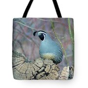 Rooster Quail  Tote Bag