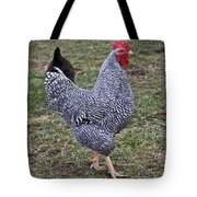 Rooster Strutting Tote Bag