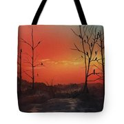 Roosting For The Night Tote Bag