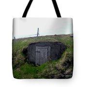 Root Cellar Near A Road Tote Bag