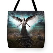 Rooted Angel Tote Bag